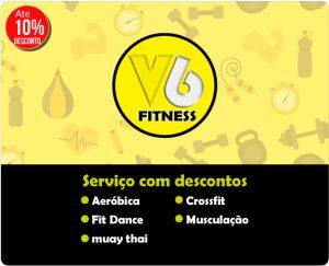 Academia v6 fitness - Parceiro Paz no Vale -